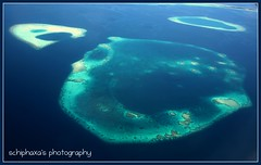 the ABC of maldives ( S H I F F ) Tags: ocean travel blue sea vacation white green tourism beach nature water canon island islands sand flickr unique sandy transport memories may experiment lagoon tourist aerial resort transportation abc maldives sunnyside 2009 coralreef sunisland shif a inidian canon450d schiphaxa shifaza schiphaxasphotography sunislandresortandspa