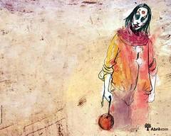 Bate- Bola (Dalts) Tags: wallpaper papeldeparede ilustraes