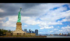 Liberty Island (Jeff_B.) Tags: nyc newyorkcity usa ny france statue brooklyn america river french liberty freedom newjersey cityscape manhattan nj explore americana statueofliberty ellisisland libertyisland