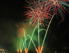 Fireworks (Alberto Montrucchio) Tags: light torino fireworks turin luce pyrotechnics feux dartifices fuochidartificio fuochi canoneos1000d today´sbest fuochisangiovannitorino