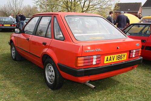 ford escort, 1982 г.1.3