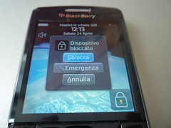 blackberry pearl 3g idle screen