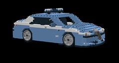 Alfa Romeo 156 Saloon Italian Police Livery LDD