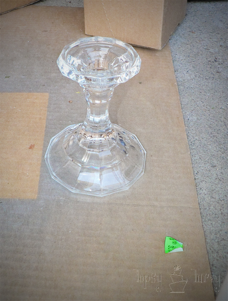 crystal candlestick goodwill cake stand craft