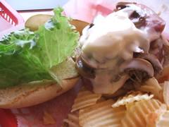 Canadian burger