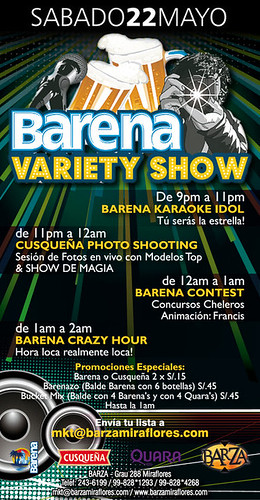 Barena Variety Show - Barza Xtreme
