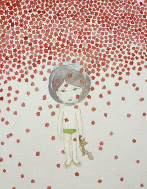 Kyung Jeon, Astronaut with Cat, 2009