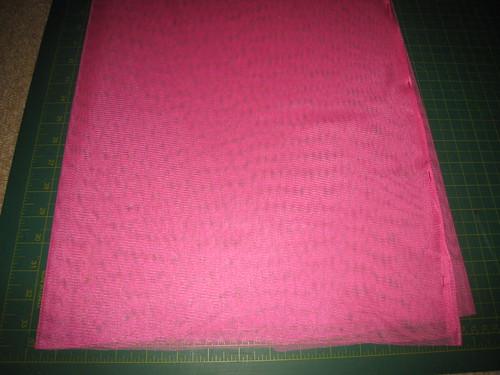 1- fabric folded