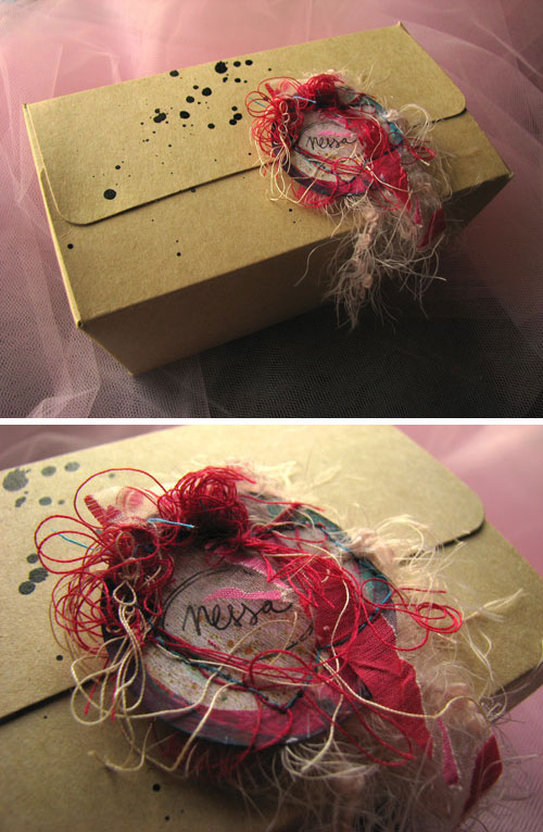 Crafty box for Nessa