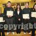 Millenium Programme Awards presented by Sharon Walsh to Micheal Dunne, Adam Kiely, Michaela O Shea, Akita Murphy