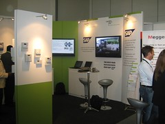 Exhibition booth for SAP