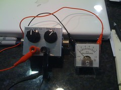 The finished QRP SWR meter