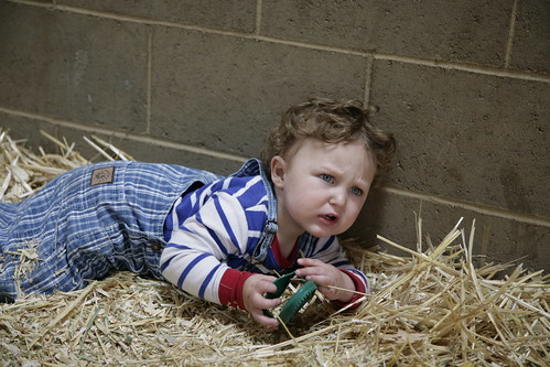 Tantrum in the straw.