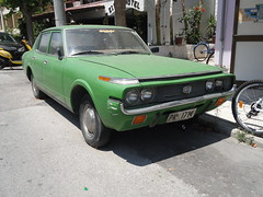 1970s Toyota Crown (Skitmeister) Tags: auto classic car vintage kos greece oldtimer griekenland klassiker pkw klassieker ελλάδα carspot griecheland κωσ skitmeister