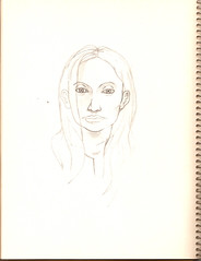 Pencil Sketch - Facial Proportions 2