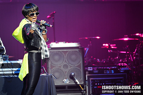 Keri Hilson @ the Chaifetz Arena -- 2009.01.08