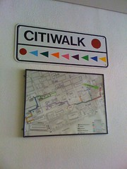 Citiwalk Map, Downtown Toledo