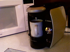 Bosch Tassimo coffee maker at Flickr.com