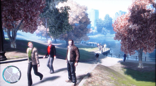 GTA4: In the park