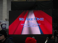 And so it begins. (Deblet) Tags: hope concert change weareone swearingin inaugration
