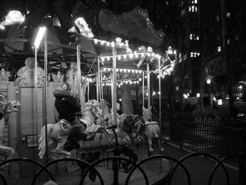 Carousel, Bryant Park