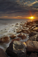 Long Reef Star (Tim Donnelly (TimboDon)) Tags: ocean sea sunrise bravo rocks australia explore longreef cokin