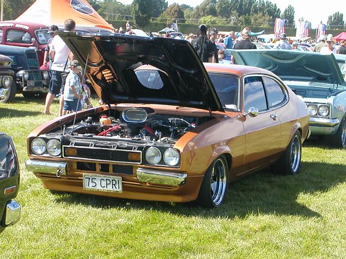 Jons own car, HiPo V8 Capri