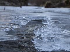 fiume sotterraneo (Andrea il_Dindi Berin) Tags: macro fiume natura acqua inverno freddo ghiaccio cristalli