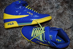 patent leather f-13's (filafreak) Tags: new blue gay white black hot leather yellow shoe sock f sneaker straight 13 sag fila patent f13