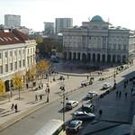 Warsaw: Krakowskie Przedmiescie St