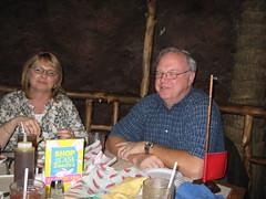 Shelley & Dale (UnhandledException & Krash) Tags: couple honey texmex casabonita sopapilla