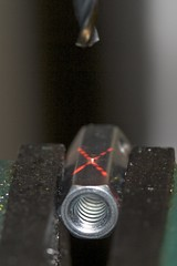 Drilling Hole In Hex Connector
