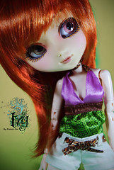 Ivy - Pullip Zuora (-Poison Girl-) Tags: white ginger doll dolls ivy carrot pullip pullips obitsu junplanning rewigged zuora pullipzuora sbhm
