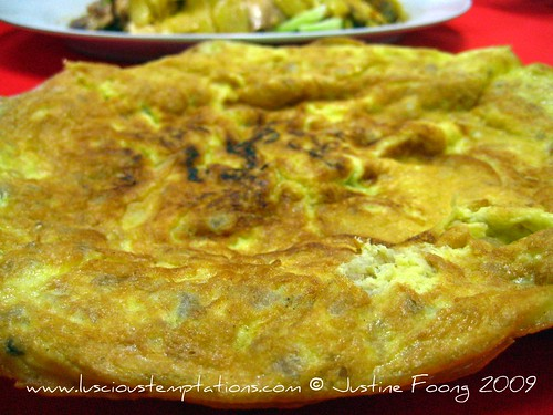 Choy Boh Omelette - OK Porridge, Kuala Lumpur