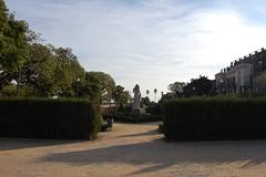 Montjuic 4 (23) (Harps n Horses) Tags: barcelona park statue spain montjuic shrubbery