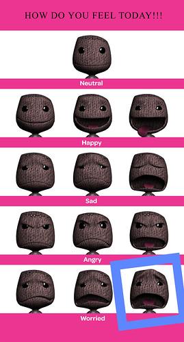 LittleBigPlanet - Sackboy Expressions Valentines Post