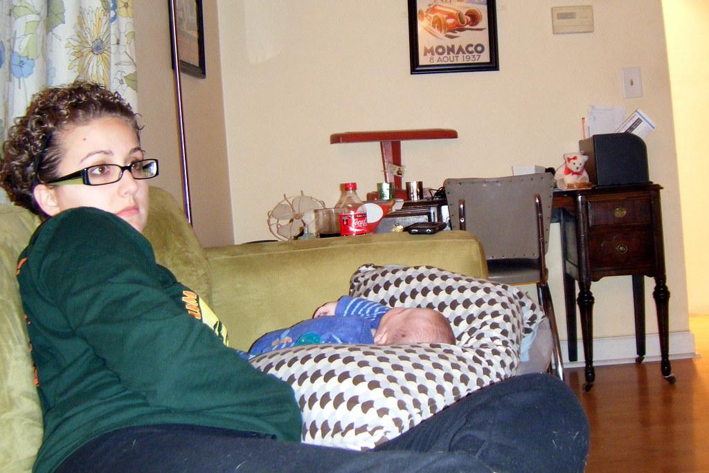Aunts sleeping feet