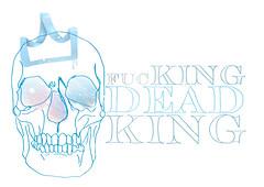 deadking (Kron Studio) Tags: blue azul illustration dead skull sketch king fucking victor rey crown draw dibujo britto coroa caveira rei illustrao