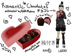 romantic chocolates (RadioSignals) Tags: chocolate secondlife valentines product scribble truffles heartbox