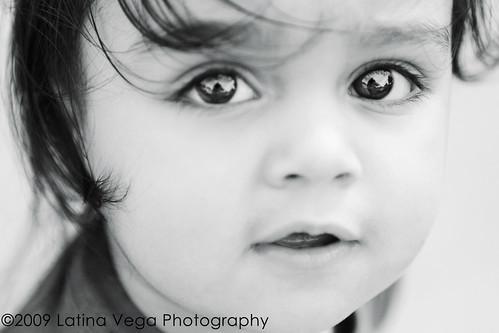 baby boys eyes