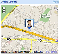 Google Latitude Anticipating Locations?