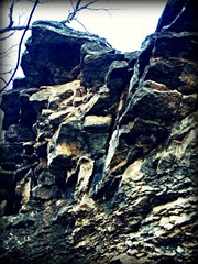 cliffhanger. (Sunshine Firestar.) Tags: park rocks picnik chandlerpark naturistic