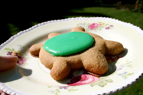Sunday: Gingerbread-Turtles!