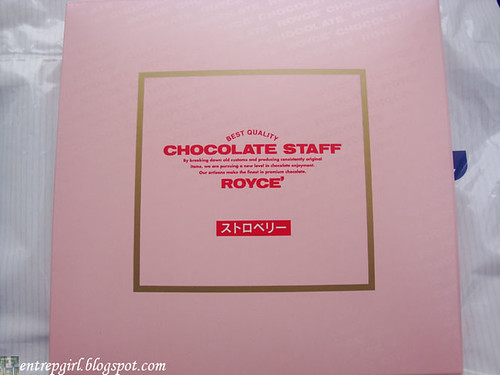Royce' strawberry nama