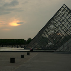 Louvre ~ Pyramide ~ Paris ~ MjYj (MjYj) Tags: world city blue light man motion black paris reflection texture beauty dark cool fantastic gate pretty solitude noir alone close pyramid louvre casino yeux bleu reflet rush spy much stargate too tones reflexion reflets trop stardust 007 homme tendre passant knew poussires djin encounters 9404 rythme savait lhomme poussire theunforgettablepictures theunforgettablepicture dtoile mjyj