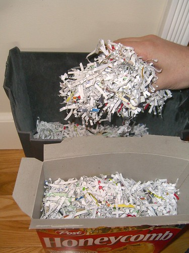 What to do with your shredded documents