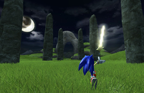 Sonic and the Black Knight review screenshots