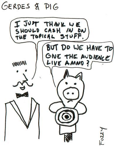366 Cartoons - 086 - Gerdes and Pig