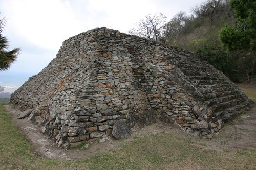 Quiahuiztlán ruin north of Veracruz, Mexico.