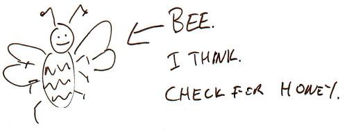 366 Cartoons - 099 - Bee